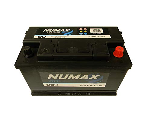 Numax Batterie Voitures Premium 115 L4 12V 80AH 800 AMPS (en)