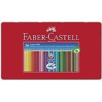 Faber Castell 112435 Matite Colorate Acquerellabili Colour Grip