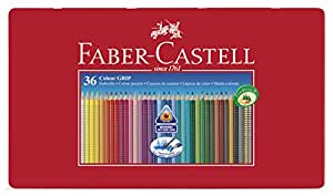 faber castell 112435 buntstifte colour grip 2001 36er. Black Bedroom Furniture Sets. Home Design Ideas