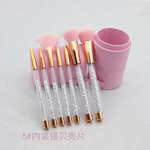 DAMENGXIANG Make-Up-Pinsel Set Pailletten Make-Up-Pinsel Puderpinsel Eye Shadow Pinsel Lippenpinsel...