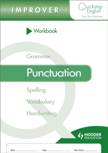 Quickstep English Workbook Punctuation Improver Stage (pack of 10) (Quickstep English Workbooks)