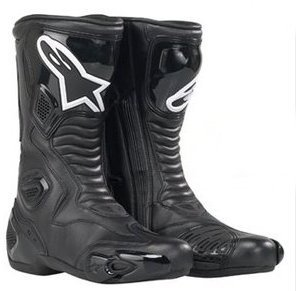 ALPINESTARS SMX-5 MOTORCYCLE BOOT MOTORBIKE RACING BOOTS TRACK DAY SPORTS J&S (43-9)