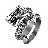 UINGKID Schmuck Ring Loong-Ringe aus rostfreiem Stahl für Herren