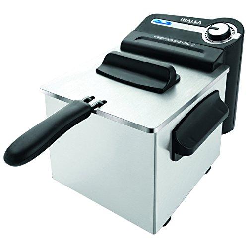 Inalsa Professional 2-Litre Deep Fryer (Black/SS)