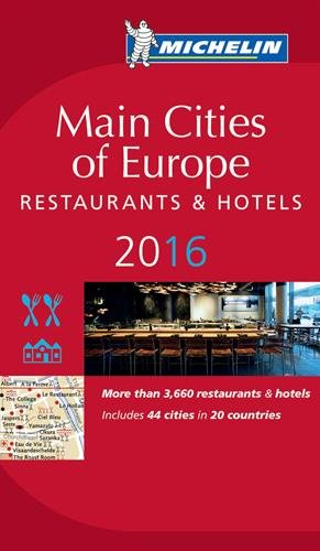 Guide Michelin Europe 2016 (Main Cities of Europe)
