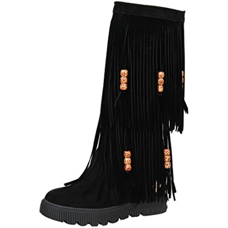Bottines Chaud Indiennes Talon Femmes Avec Chaussures Uh Compensees zqEwnnTp