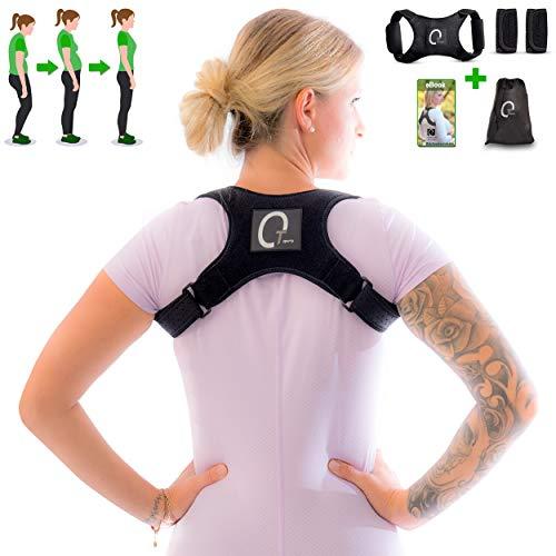 OTsports Rückengeradehalter Rückenkorrektor für eine gesunde Körperhaltung gegen Rückenschmerzen - Sport Beruf und Freizeit - für Mann und Frau geeignet