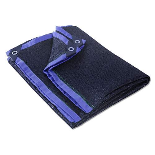 QNJM Filet De Masquage Noir Épaississant Filet De Protection Solaire Filet D'ombrage Filet D'ombrage (Taille : 2 * 3m)