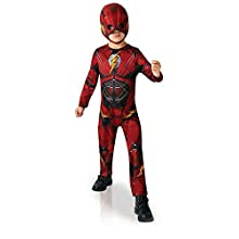 Rubie's Official DC Justice League The Flash, Children Costume - Small Age 3-4 Years, Height 104 cm
