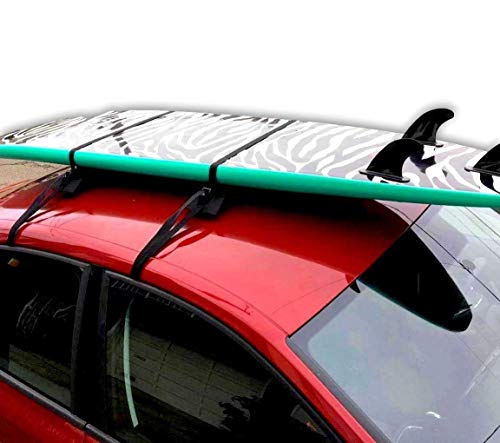 The Dorsal Single Surf Wrap-Rax is the perfect choice for those times when you want to safely transport your Surfboards, Longboards, Snowboards to the beach or snow using your vehicle. With19 inch Pads and over 12ft straps this solution is perfect f...