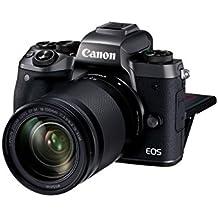 Canon EOS M5 Appareil Photo Hybride + EF-M 18-150 mm F/3.5-6.3 IS STM + Bague d'Adaptation EF-EOS M