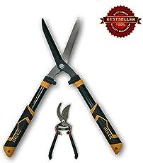 Tools Centre Hedge Shear, Garden Shear, Grass Cutter, Pruning Shear, Garden Tool Set With Rubber Grip