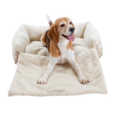 Ruff & Barker® Sofa Saver Dog Bed - Sofa Dog Beds NATURAL - MEDIUM Dog Beds 70cm x 45cm x 18cm - inexpensive UK light shop.