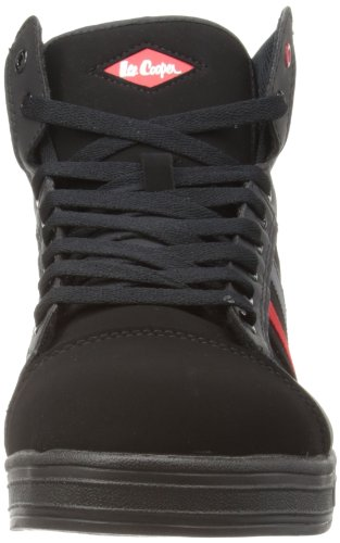 Lee Cooper WorkwearHiking Style - Stivali uomo Nero (Nero/rosso/grigio)