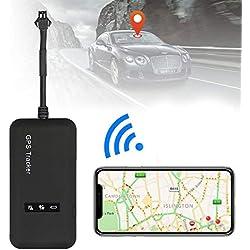 Tracer GPS pour véhicule, Mini Dispositif de Localisation et de Suivi en Temps Réel par GPRS/GSM/SMS, pour Voiture, Scooter, Moto, Velo