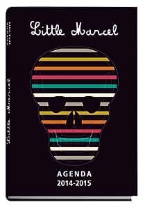 Exacompta Agenda scolaire journalier Forum Little Marcel Crâne Année 2014 2015