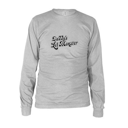 er - Herren Langarm T-Shirt, Größe: XXL, Farbe: weiß (Tochter Daddy Kostüme)