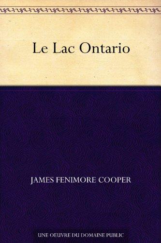 Couverture du livre Le Lac Ontario
