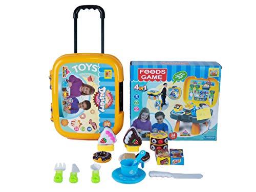 Cake Toys Set - Qualität Kunststoff Spielzeug Cake Play Food - mit Messer - Mini Kitchen Kids Dishes- Kinderspielhaus Koffer Spielzeug, Kuchenspielzeug der Simulationsküche handgemachtes