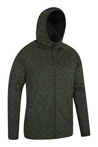 Mountain Warehouse Power Fleece Lined Hoodie Kaki
