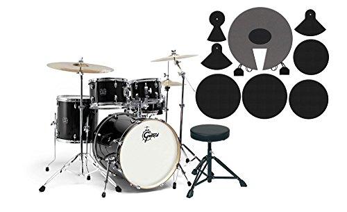 gretsch-energy-drumkit-black-set-mit-dampferpads-7-lagige-pappel-kessel-chrome-hardware-inkl-5-teili