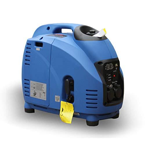 HIOD Mini Grupo Electrógeno 3000w, 100% Onda Sinusoidal Emergencia Inversor Todo Bronce...