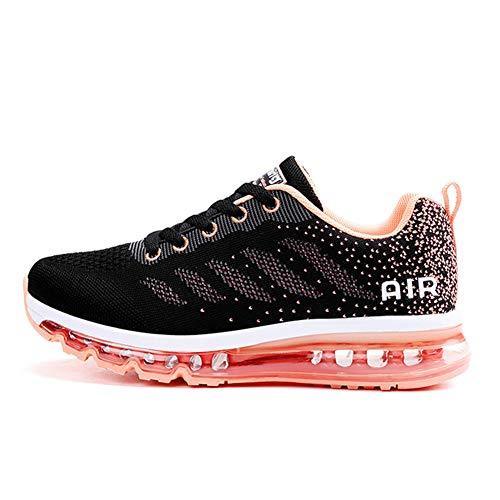 Axcone Damen Herren Sneaker Laufschuhe Air Sportschuhe Kletterschuhe Turnschuhe Running Fitness Sneaker Outdoors Straßenlaufschuhe Sports 833 PK 38EU