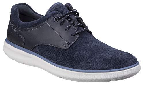 Rockport Herren Zaden Spitz Blucher Schuhe Sneaker Marineblau 47,5