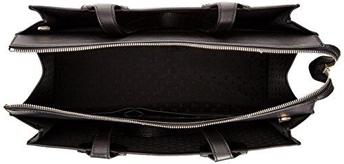 Patrizia Pepe Borsa Clutch Tasche Leder 28 cm DRESS BLUE