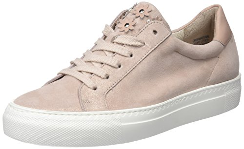 Paul Green Damen Sz Met/Diamond Calf Rose/Blush Sneaker, Mehrfarbig 12, 40 EU Diamond Sneaker