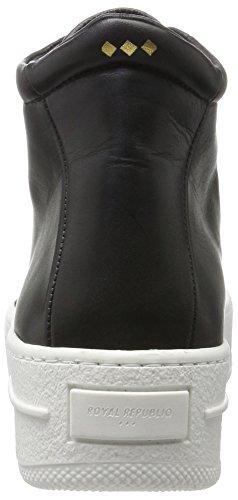 Royal Republiq Damen Seven20 Low Cut Sneaker Schwarz (nero)