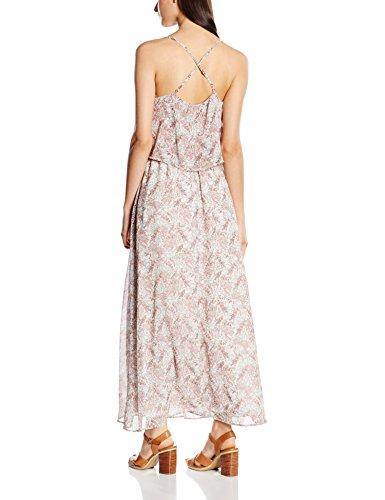 s.Oliver Kleid Lang, Robe Femme - creme floral print 02C1