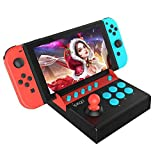 Mini Manette Arcade Stick compatibile con Nintendo Switch, Joystick Fighting Stick in stile giochi arcade, Controller Joystick per NS Switch