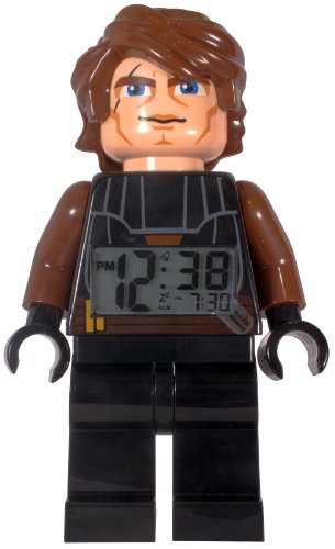 LEGO Clone Wars Anakin Minifigure - reloj despertador