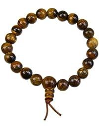 Bracelet Mala Tibetain - Oeil de Tigre