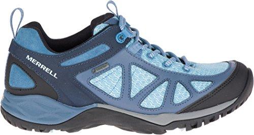 Merrell Siren Sport Q2 GTX, Chaussures de Randonnée Basses Femme, Bleu