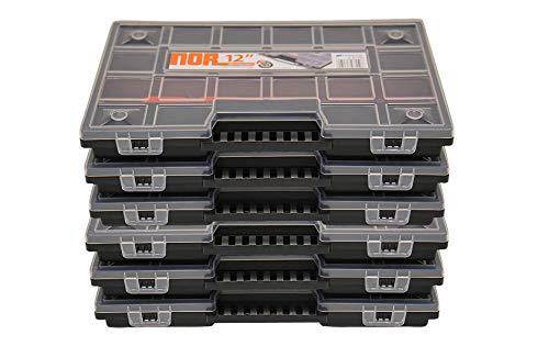 6er Set Sortimentkasten Sortimentskästen Sortierkästen Prosperplast NOR12 Sortimentsboxen Sortierboxen Nähzubehör-box Sortierbox Sortierkoffer Sortimentskoffer Kleinteilmagazin