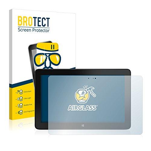 BROTECT Panzerglas Schutzfolie für Dell Venue 11 Pro 7140 (2013-2014) - Flexibles Airglass, 9H Härte, Anti-Kratzer