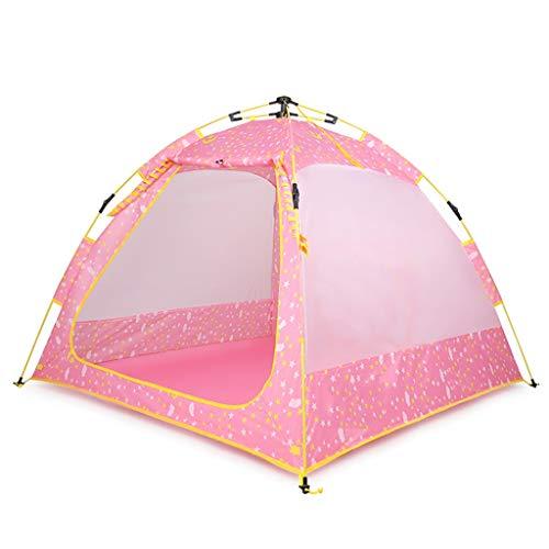 XUANLAN Hochwertiges Kinderzelt Kinderzelt Sonnenschutz Belüftung Tragbares Campingzelt Außenspielhaus Innenspielhaus Langlebig (Color : D)