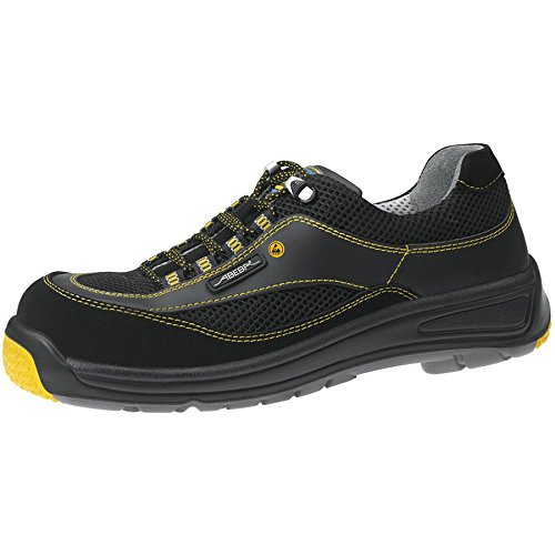 Abeba Static Control Chaussures basses Noir ESD S1 Noir