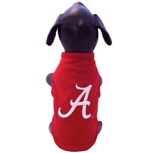 Alabama Tank (NCAA Alabama Crimson Tide Cotton Lycra Dog Tank Top, Tiny)