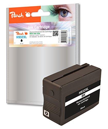 Preisvergleich Produktbild Peach PI300-412 Schwarz Remanufactured Tintenpatronen Pack of 1