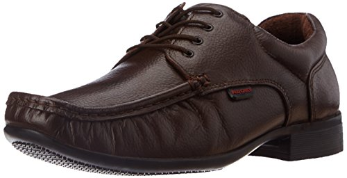 Redchief Men's Brown Leather Formal Shoes - 8 UK (RC1055 033)