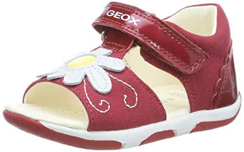 Geox B Sandal Tapuz Girl B, Bambina, Rosso (Red/White C0003), 23 EU