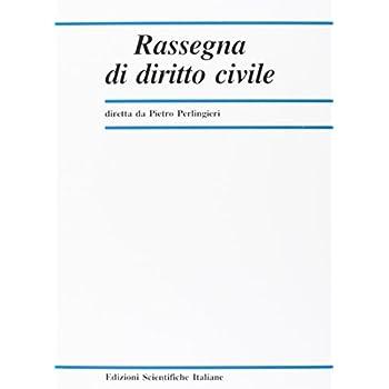 Rassegna Di Diritto Civile (2017)