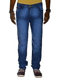 Jugend Light Blue Regular Fit Stretchable Jeans For Men