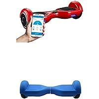 """SmartGyro X2 rojo, 6.5"""" + Cover blue"""