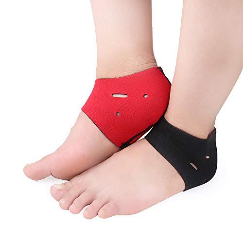SISHUINIANHUA 2 Stücke Plantarfasziitis Therapie Wrap Fuß Ferse Schmerzlinderung Hülse Ferse Schützen Socke Knöchelbandage Arch Support Orthesen Einlegesohle - Arch Socken
