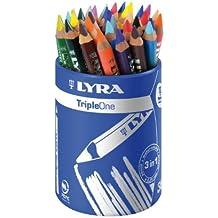 Lyra Triple One L3643360 Pot de 36 crayons de couleur Assortis