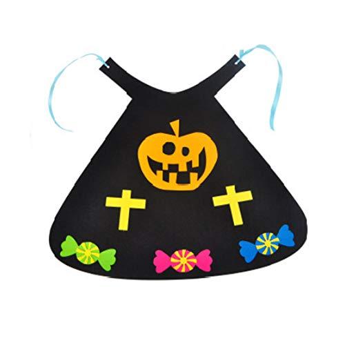 Halloween-Kürbis Säugling Cartoon Mantel Spielzeugmodelle EIN Kleid Lustiges -